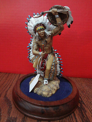 """HAMILTON COLLECTION """"Great Feather Spirit"""" Sculpture John Pyre 1996 ~FAST S/H~"""