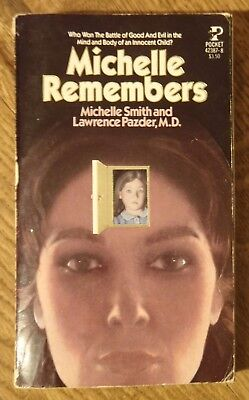 Michelle Remembers by Michelle Smith - 1981 1st Print Paperback - Satan Worship