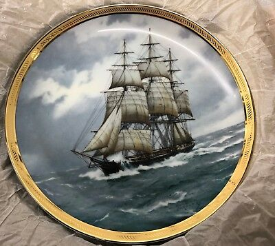 Sovereign of the Seas Plate Franklin Mint