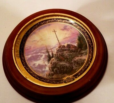 """""""Sunrise"""" by Thomas Kinkade Millennial Collectible Plate #9636A"""