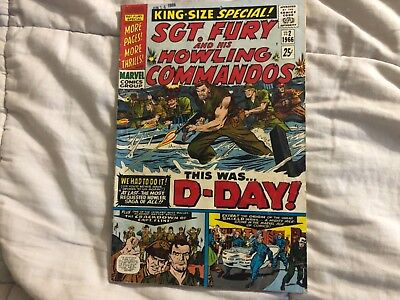 sgt fury and his howling commandos king size special #2