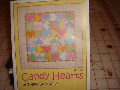 quilt kit Candy Hearts Kit 48x48   1