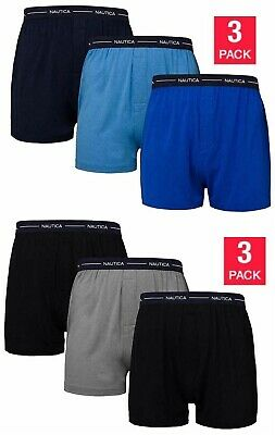 Nautica Modal Men's 3 Pack Knit Boxers