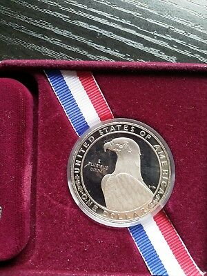 1983 United Stated Mint Proof Olympics C Silver Coin