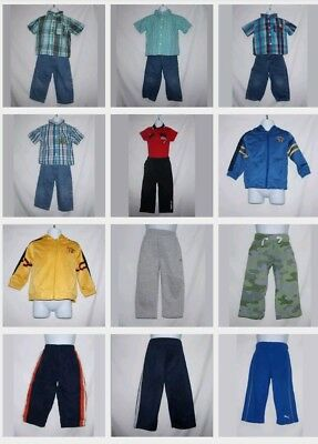 Toddler Boys Clothes  Lot Size 18M Mix Match Outfits 19 pieces