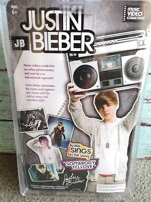 Justin Beiber Singing Doll - New In Box. Original and when it all begun.