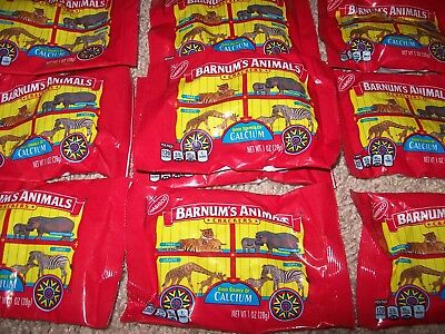 Nabisco Barnum Animal Crackers Cage Background Banned Discontinued Bag Lot of 10