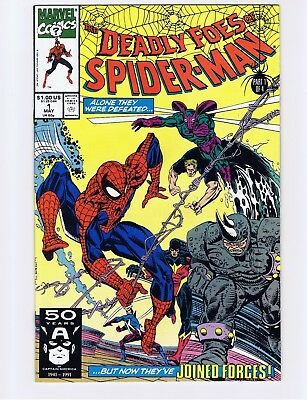 Deadly Foes of Spider-Man #1, May 1991, Marvel comics - NM (Unread copy)