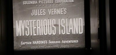 16mm Film Serial Mysterious Island Chapters 11 & 13 Spanish Sound