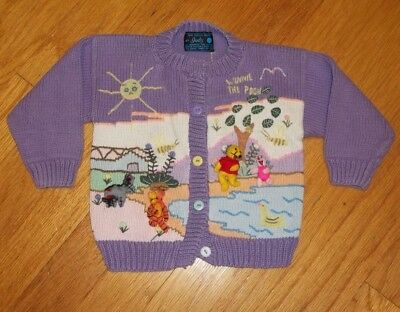 Fairy Tales on Parade by Judy 18-24 month girls cardigan sweater winnie the pooh