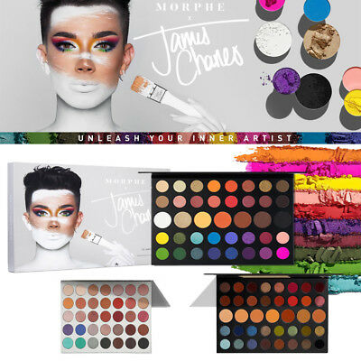 Morphe THE JACLYN HIL /JAMES CHARLES/39A DARE TO CREATE EYESHADOW PALETTE