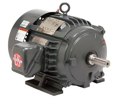 5 HP Electric motor 3 Phase 1800 Rpm US Motor 184T TEFC Inverter duty! Free ship
