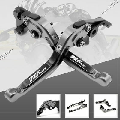 For YAMAHA YZF-R125 2008-2011 Adjustable Folding Extendable Brake Clutch Levers