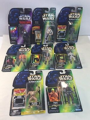 Kenner Star Wars Lot 8 Action Figures 1996 1997 1998 POTF Shadow Empire