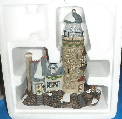 Department 56 Christmas At Salt Bay Lighthouse Village Piece