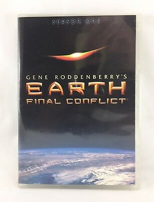 EARTH:FINAL CONFLICT-1997/02-TV SERIES USA-Season One-[6 Disc Set