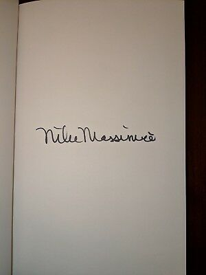 HC/DJ Book - SPACEMAN SIGNED by Astronaut, MIKE MASSIMINO 1st First Edition