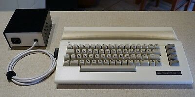 Commodore C64c with New Cables, Case and Quality PSU etc - Tested/Working