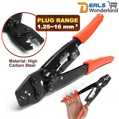 1.25~16 mm² Plug 50 Amp Wire Cable Crimping Plier Terminals Crimper Tool