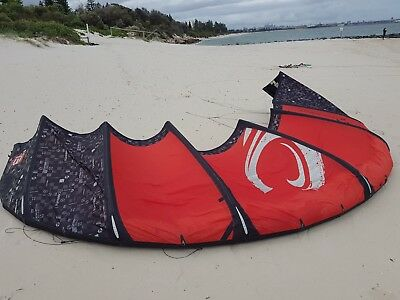 kitesurfing kit, 13m cabrinha crossbow bar& kiteboard