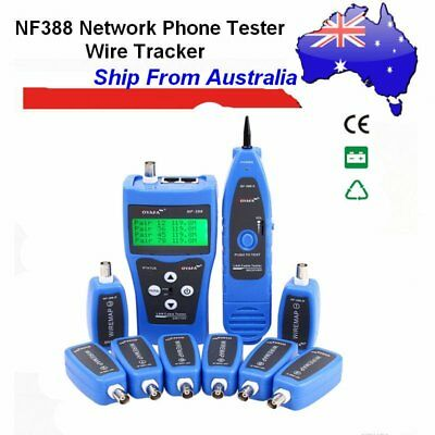 Noyafa NF-388 Tester CCTV LCD Line Finder Wire Tracker Diagnose Tone Tool Kit GT