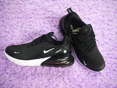 Men's Athletic Shoes SIZE 9.5 (2018) Nike Air Max 270 Black White -AH8050-002