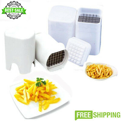 One Step Perfect Fries Natural French Fry Cutter Slicer Fruit Potato Vegetable