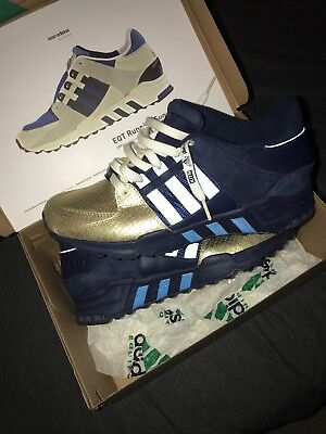 promo code 55624 324bc Adidas EQT RNG support 93 x Kith Ronnie Fieg NYCs Bravest Brand size 8.5