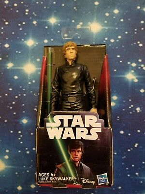 Luke Skywalker 6in Brand New Unpoened Star Wars Hasbro Disney Value Line ROTJ