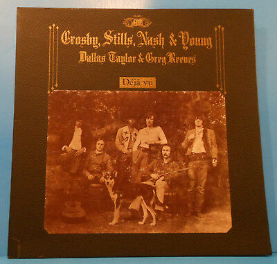 Crosby Stills Nash & Young Deja Vu Lp 1970 Original Nice Condition! Vg/Vg+!!C
