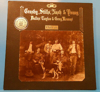 Crosby Stills Nash & Young Deja Vu Lp 1970 Re '74 Nice Condition! Vg/Vg+!!D