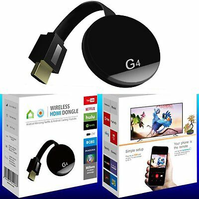 1080P HDMI WiFi Wireless TV Dongle 4nd Miracast Airplay Receiver For IOS Android
