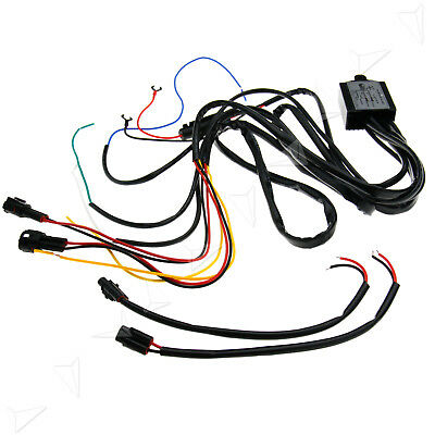 HIGH QUALITY DRL Relay Wiring Harness Multifunction DC 12V Controller on