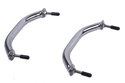 2X Marine Stainless Steel 8 inch Grab Handle Handrail Boat /RV/Bath Universal