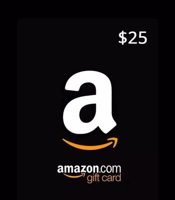 Amazon Gift Card $25 Value Fast Free USPS Shipping Plus Electronic Delvivery