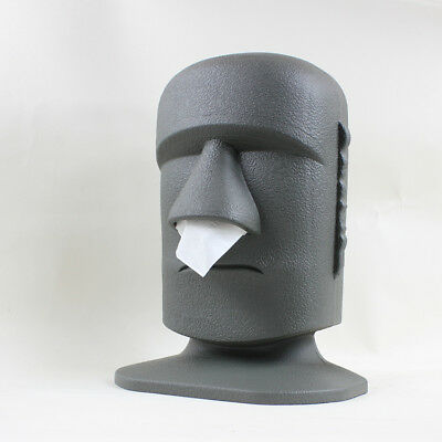 Stone man tissue box Cover Holder Dispenser