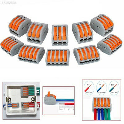 4D4C Universal Reusable Terminal Block Wire Electronic Cable Wiring Connector