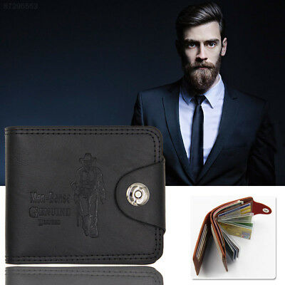 F0C1 Wallet Storage Men'S Package Accessories Father'S Day Genuine PU Leather