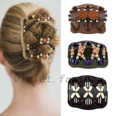 Women's Hair Comb with Easy Butterfly Accessories Gifts Clip 3 Colors