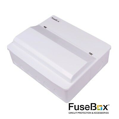 F1D14TN Fusebox 14W 18th Edition Surge Protected Dual Consumer Unit c/w 10 MCB's