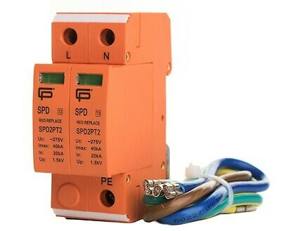 SPD2PTN Surge Protection Device Kit, Conforms to 18th Edition Wiring Regulations
