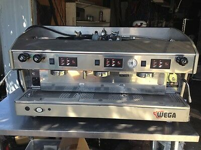 Wega 3 Group Espresso Coffee Machine