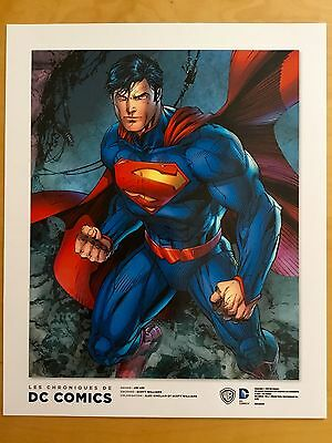 Ex libris (dessin) SUPERMAN - par Jim Lee (DC Comics)