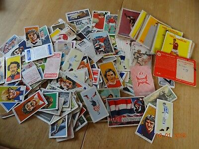 Mixed lot 120+ Vintage Confectionery  Trade CARDS Mixed Lot 100s  Football ect