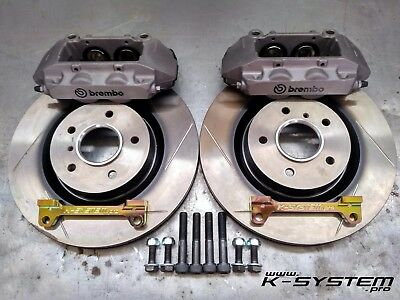 K-SYSTEM.pro** HONDA CIVIC EP3 / FN2 TYPE-R ** BREMBO 4-POT 324x30 BIG BRAKE KIT