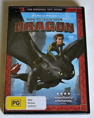 """""""How To Train Your Dragon"""" , New & Sealed DVD !!!"""