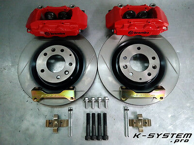 K-SYSTEM.pro ** MAZDA RX-8 ** BREMBO 4-POT 320x28 BIG BRAKE KIT BBK