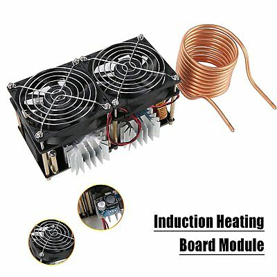 Induction Heating Board Module Flyback Driver Heater + Tesla Coil +Fan 40A 1800W