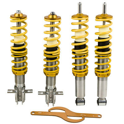 Pour VW Scirocco Mk1 Mk2 79–84 Adjustable Coilovers Shock Absorber Suspension