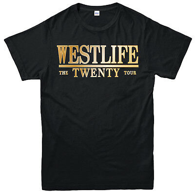 Westlife Concert Tour 2019 T-Shirt, Pop, Crossover music, Adult & Kids Tee Top